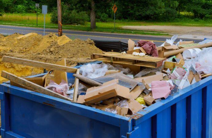 Hope-Mills-Fayetteville-Dumpster-Rental-Junk-Removal-Services-We Offer Residential and Commercial Dumpster Removal Services, Portable Toilet Services, Dumpster Rentals, Bulk Trash, Demolition Removal, Junk Hauling, Rubbish Removal, Waste Containers, Debris Removal, 20 & 30 Yard Container Rentals, and much more!